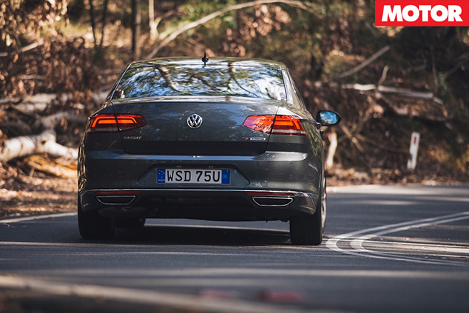 VW passat rear driving