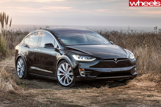 Black -Tesla -Model -X
