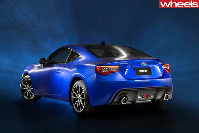Subaru -BRZ-rear -side