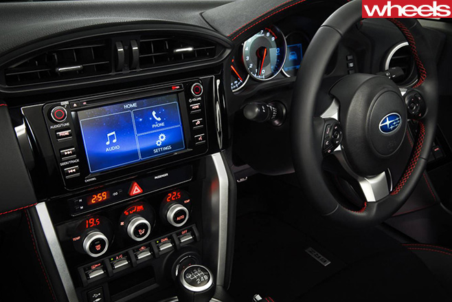 Subaru -BRZ-interior