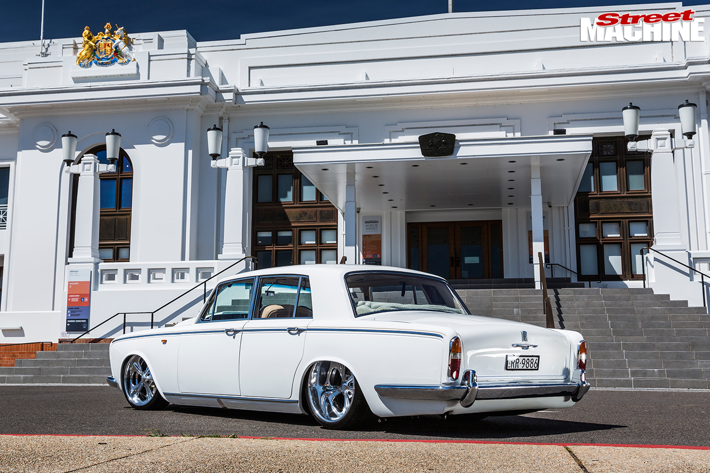 Rolls -royce -silver -shadow -rear -quarter