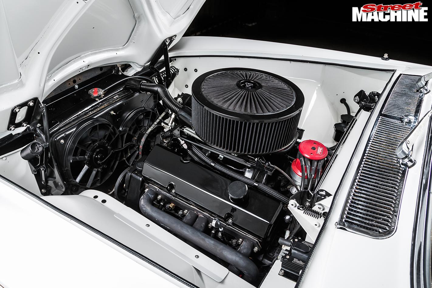 Rolls -royce -silver -shadow -engine -bay