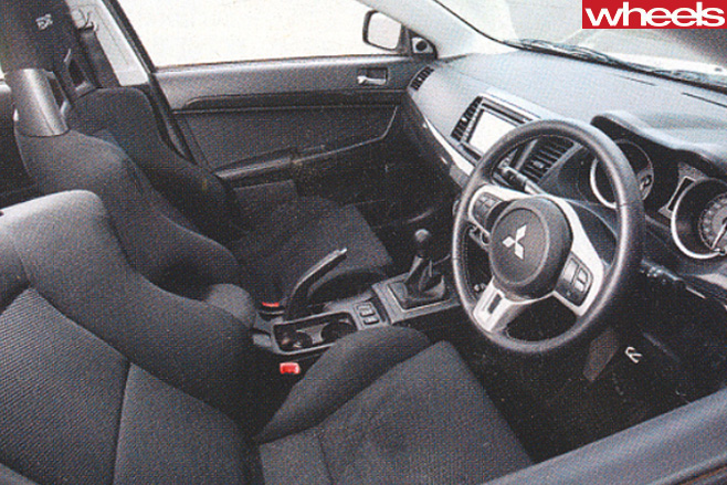 Mitsubishi -Lancer -Evolution -X-interior