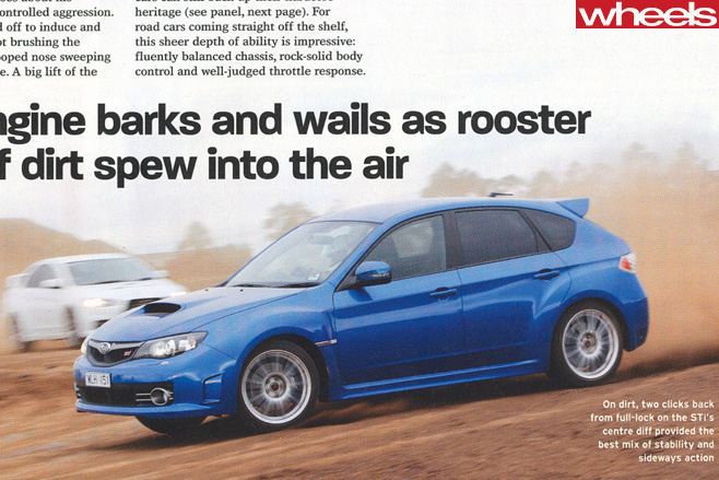 Mitsubishi -Lancer -Evolution -X-driving -around -dirt -track