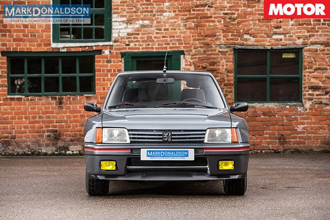 Peugeot 205 T16 front