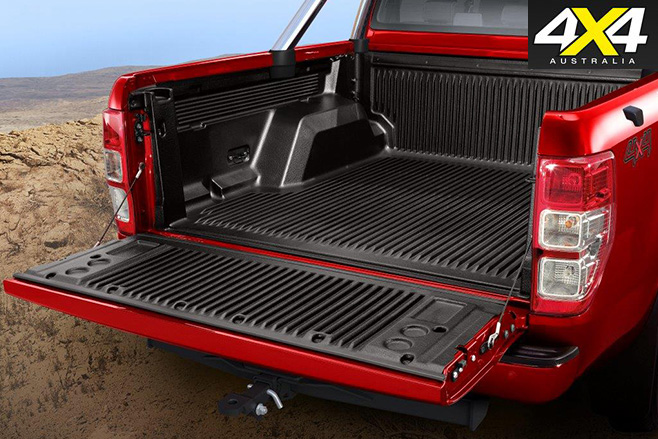 Special edition Ford Ranger tray