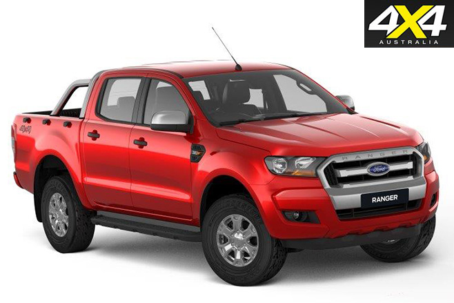 Ford ranger xls front