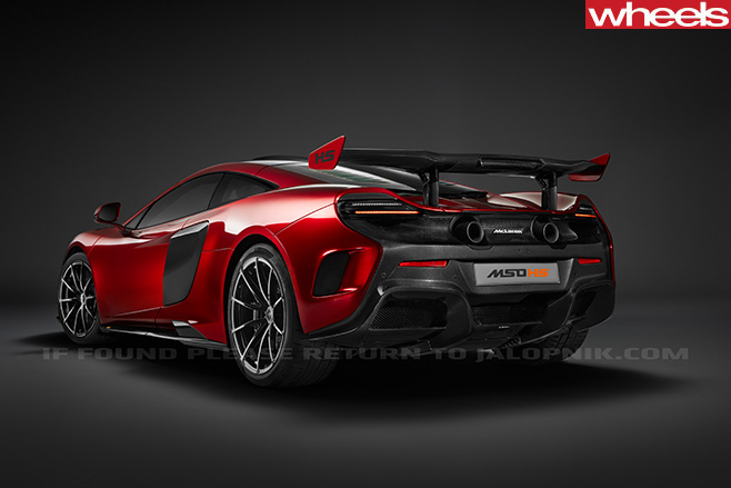 Mc Laren -MSO-HS-rear