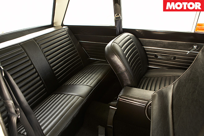 Lotus cortina interior rear