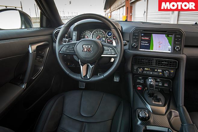 Nissan MY17 GT-R interior