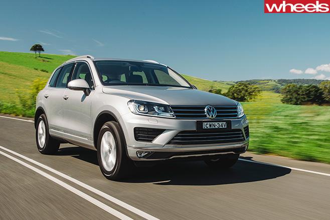 Volkswagen -SUV-front