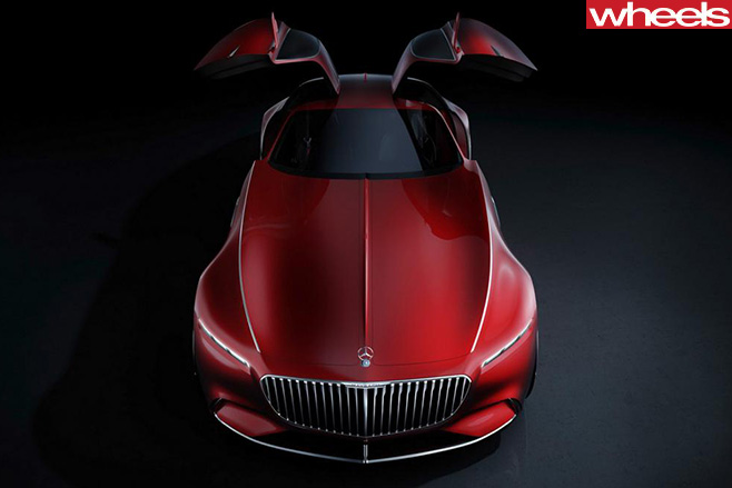 Mercedes -Maybach -Vision -Gullwing -door