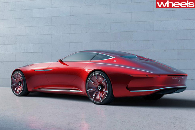 Mercedes -Maybach -Vision -rear -side