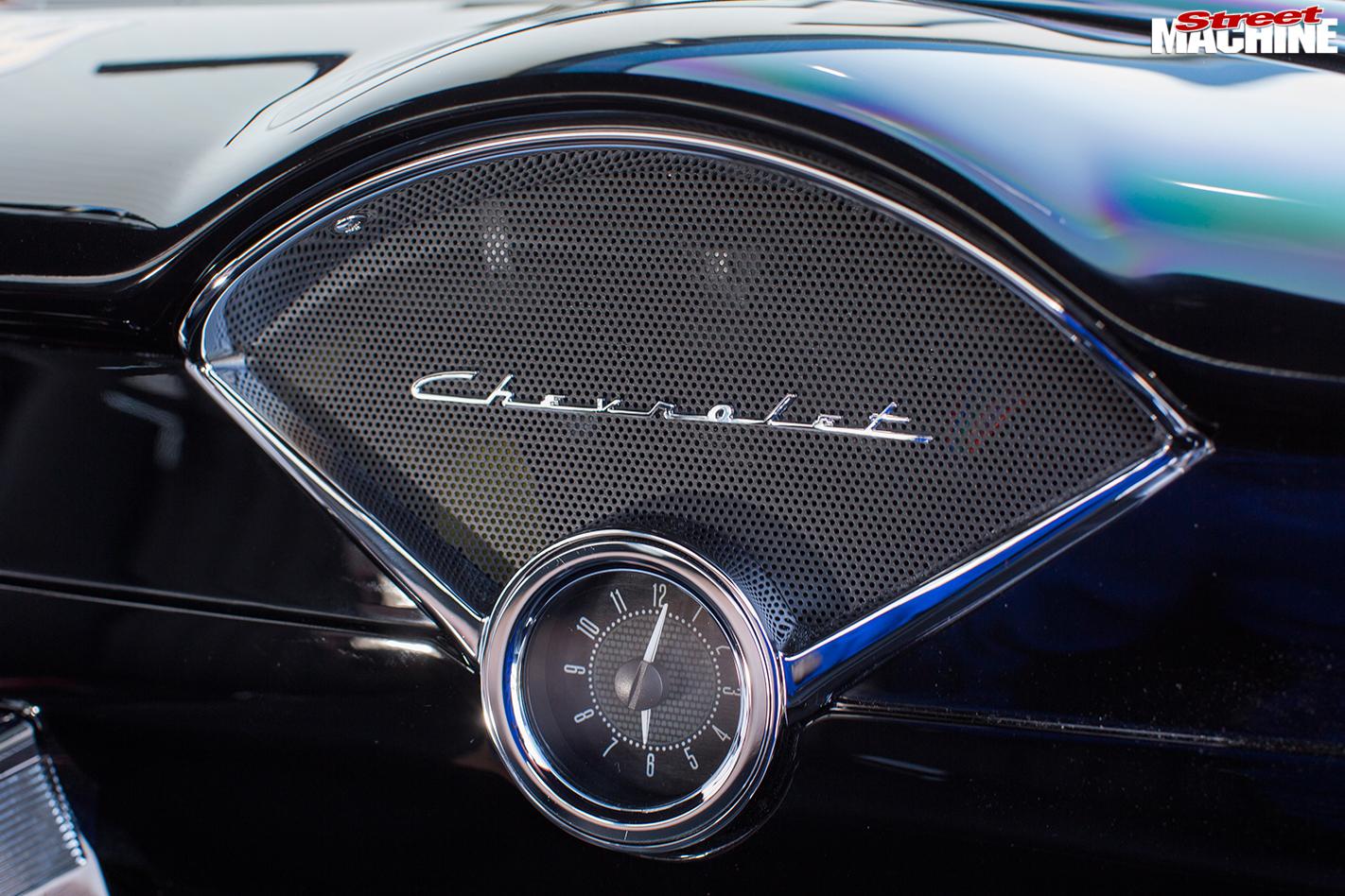 1955-chevrolet -clock