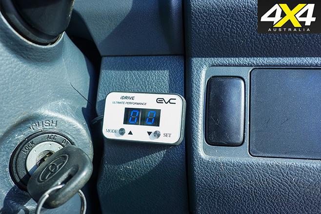 Control mounted on dash