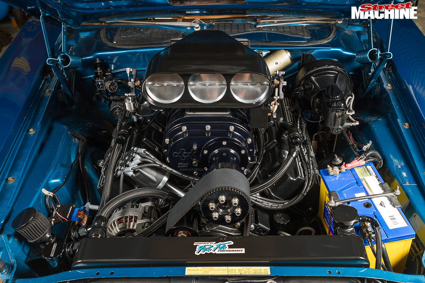 Plymouth -barracuda -engine -bay
