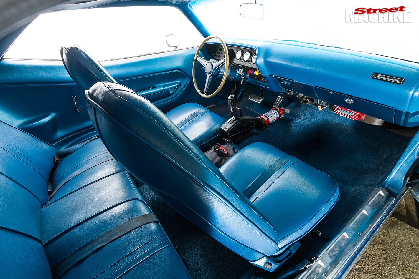 Plymouth -barracuda -interior
