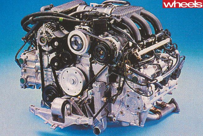 1996-Porsche -Boxster -986-engine