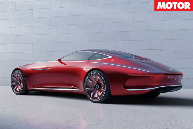 Mercedes Maybach Vision 6 revealed rear