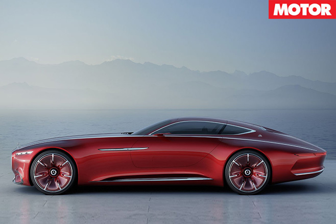 Mercedes Maybach Vision 6 side
