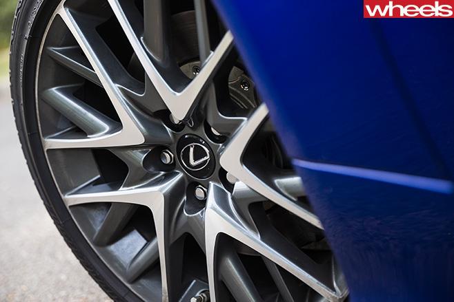 Lexus -RC-200t -F-Sport -alloy -wheel