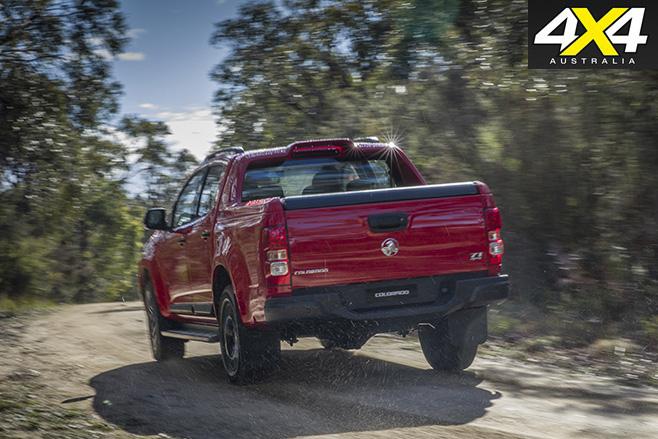 Holden Colorado MY17 Review rear