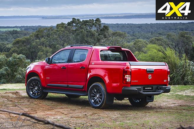 Holden Colorado MY17 rear