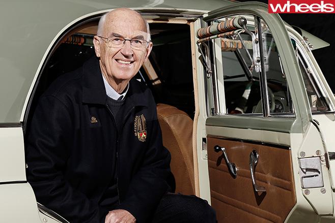 Don -Loffler -Holden -Historian -in -classic -car