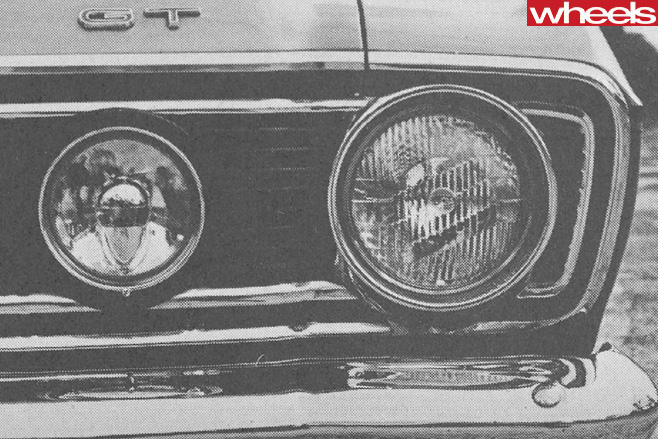 1968-Ford -Falcon -GT-fascia