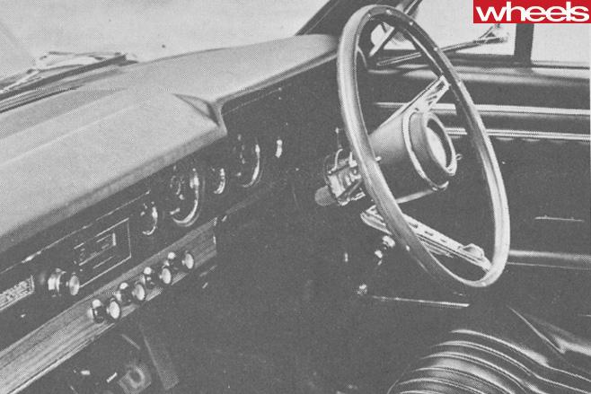 1968-Ford -Falcon -GT-interior