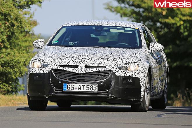 2017 Opel Insignia Spy Pics Front