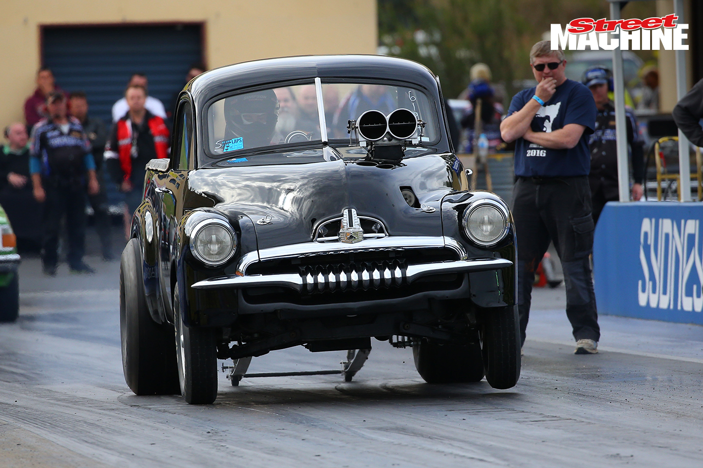 Brumby FJ Ute Blown Drag Race 5