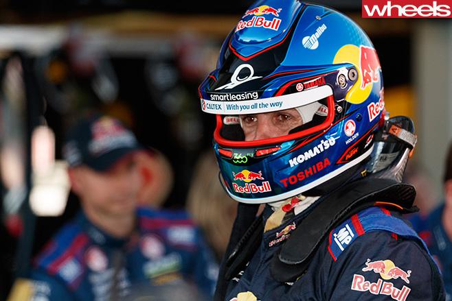 Jamie Whincup V8 Supercars helmet
