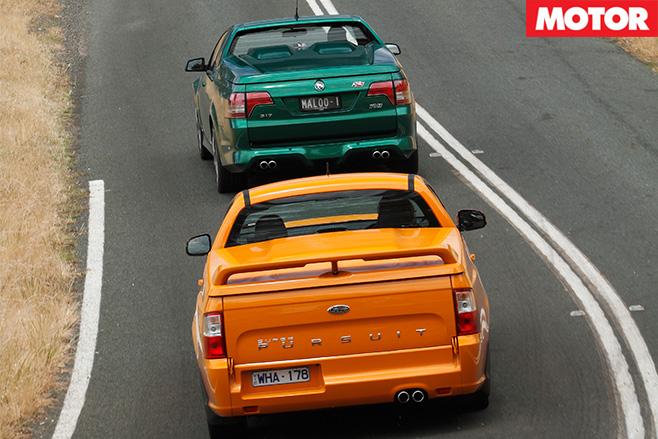 Fpv utes rear driving