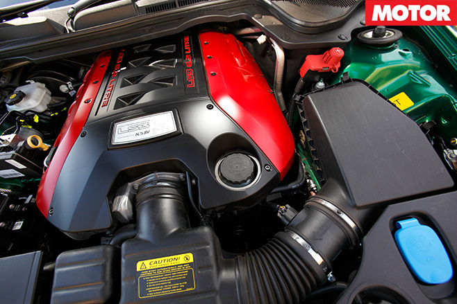 LS3 6.2 litre engine