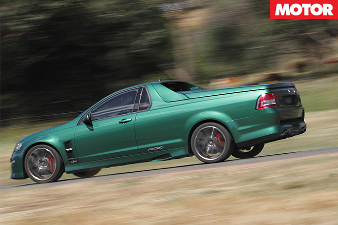 Hsv maloo r8 driving side