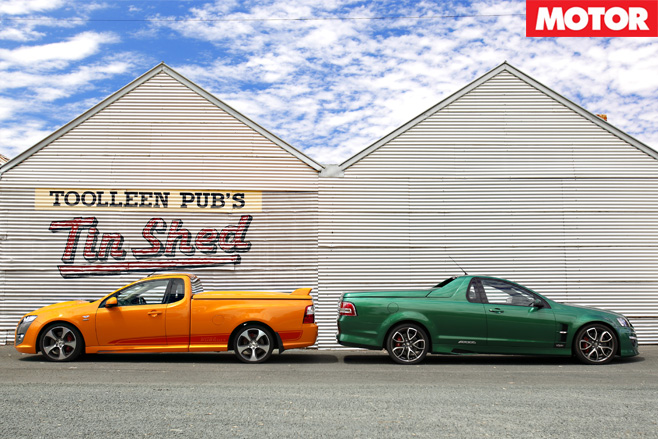 FPV vs HSV utes side