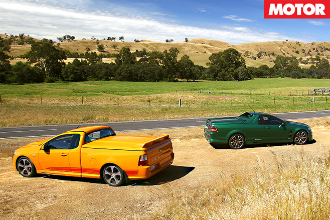 FPV vs HSV utes side country