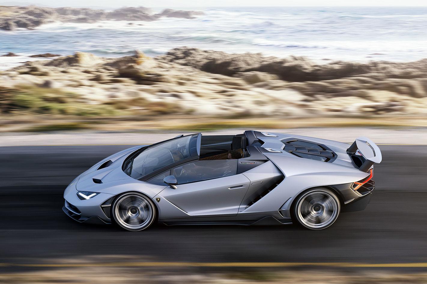Lamborghini Centenario Roadster profile
