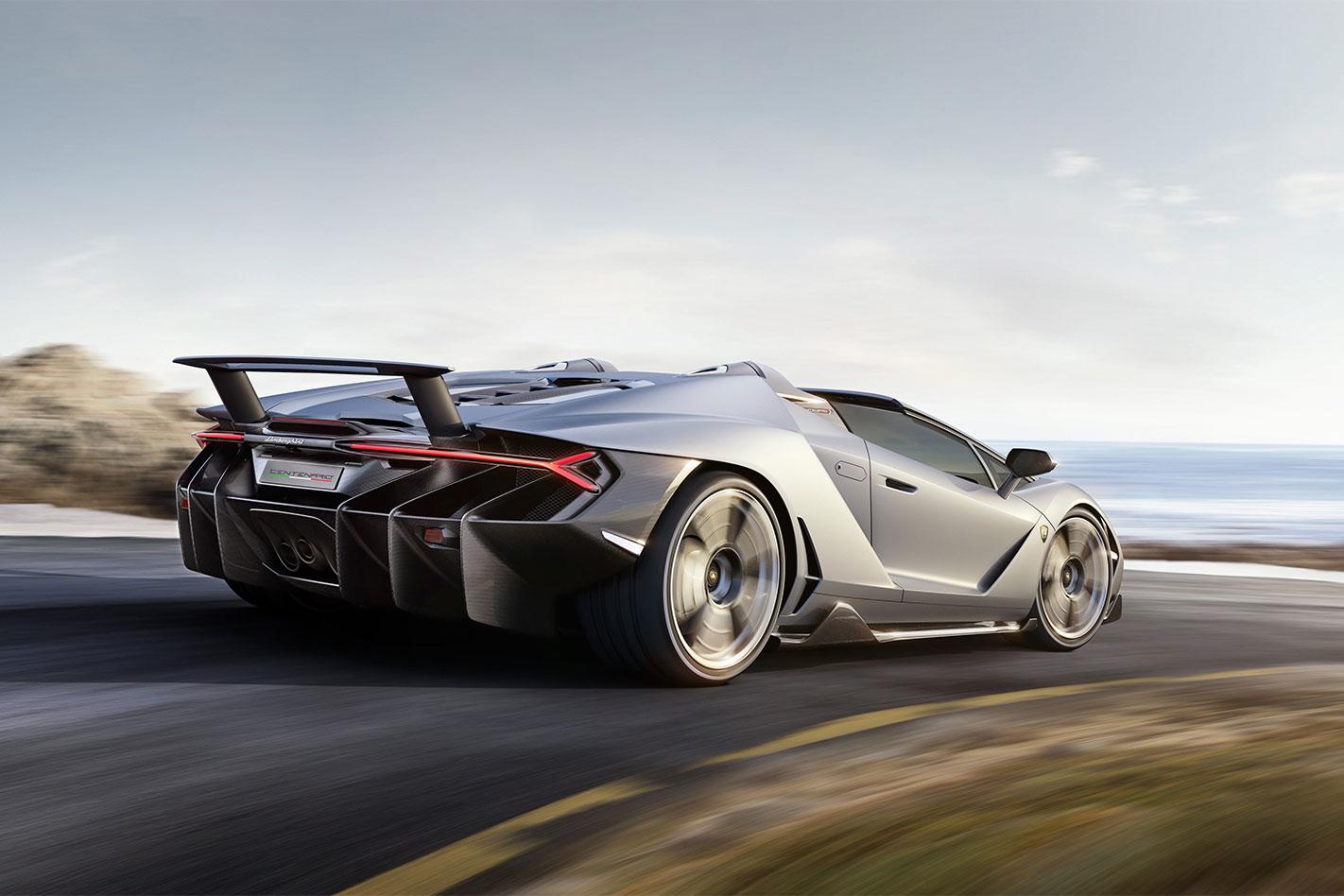 Lamborghini Centenario Roadster rear
