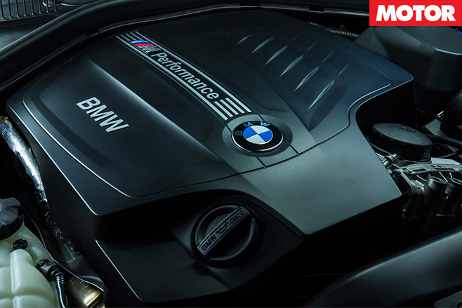BMW 2 series engine