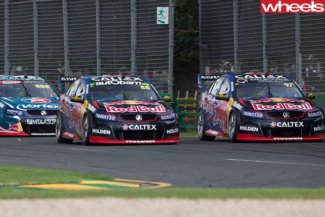 Red -Bull -HRT-V8-Supercars