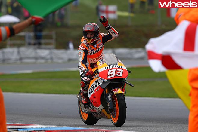 Moto GP-rider