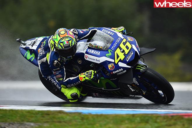 Yamaha -Moto GP-rider
