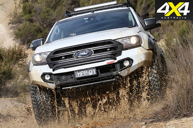 Harrop Ford Ranger front protection