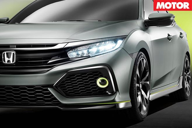 Honda Civic Type-R lights