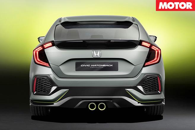 Honda Civic Type-R rear