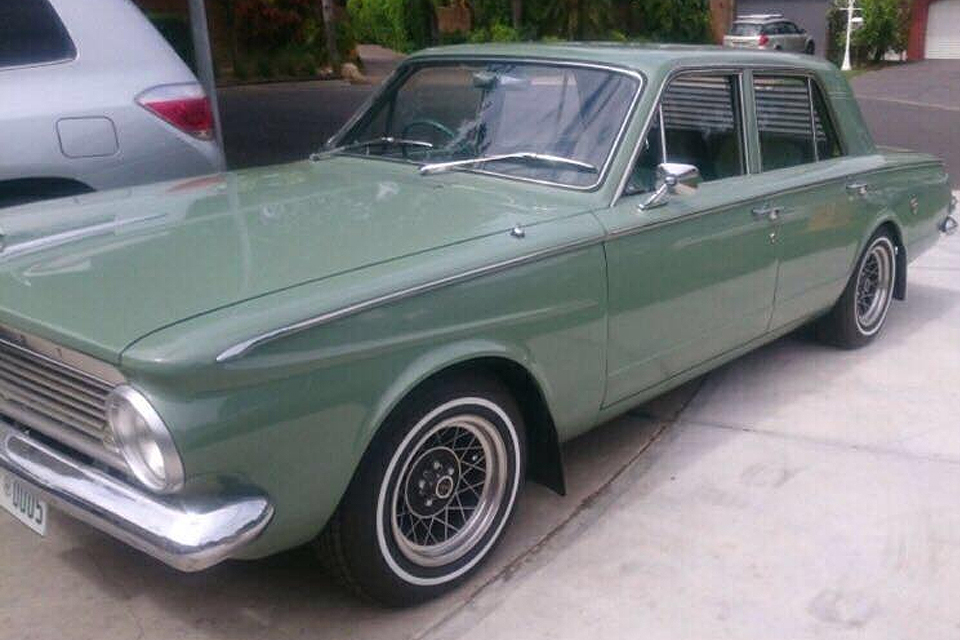Mopar -44-green -valiant