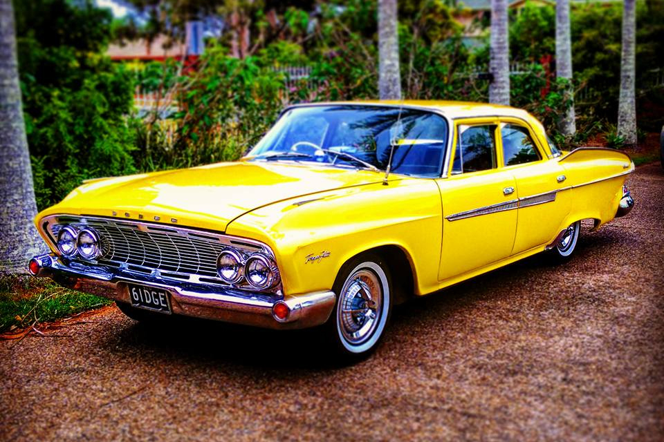Mopar -57-yellow -dodge