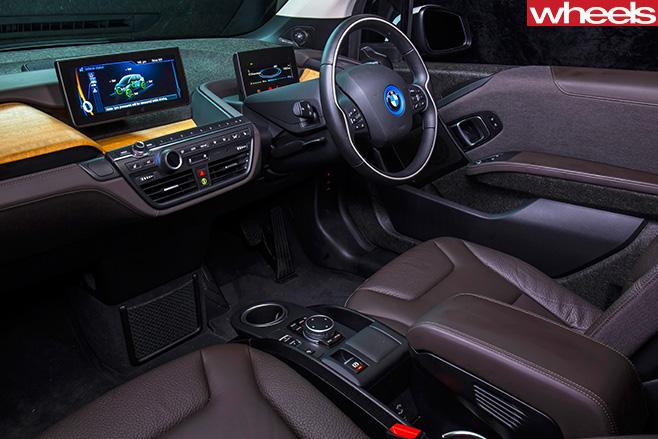 BMW-i 3-interior